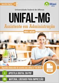 Assistente em Administração - UNIFAL-MG