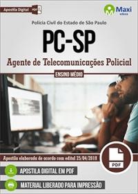 Agente de Telecomunicações - Polícia Civil - SP