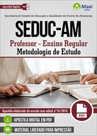 Professor - Metodologia de Estudo - SEDUC-AM