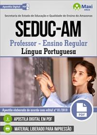 Professor - Língua Portuguesa - SEDUC-AM