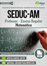 Professor - Matemática - SEDUC-AM