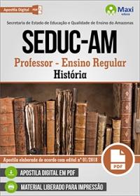 Professor - História - SEDUC-AM