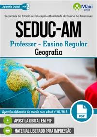 Professor - Geografia - SEDUC-AM