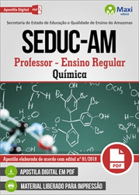 Professor - Química - SEDUC-AM
