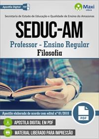 Professor - Filosofia - SEDUC-AM