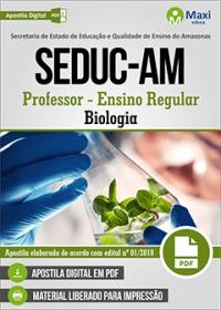 Professor - Biologia - SEDUC-AM