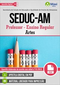 Professor - Artes - SEDUC-AM