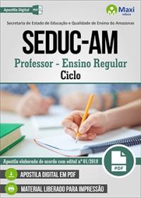 Professor - Ciclo - SEDUC-AM