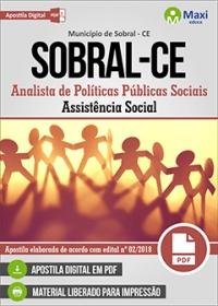 Analista de Políticas Públicas Sociais - Assistência Social - Sobral - CE