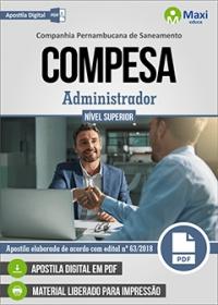 Administrador - COMPESA
