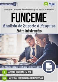 Analista de Suporte à Pesquisa - Administração - FUNCEME