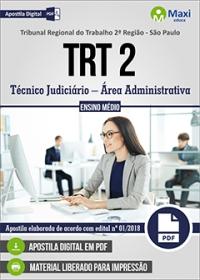 Técnico Judiciário - Área Administrativa - TRT 2ª Região - SP