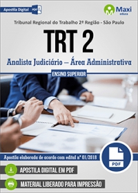 Analista Judiciário - Área Administrativa - TRT 2ª Região - SP