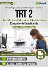 Analista Judiciário - Especialidade Contabilidade - TRT 2ª Região - SP