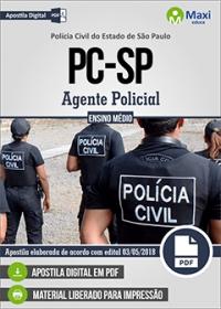 Agente Policial - Polícia Civil - SP