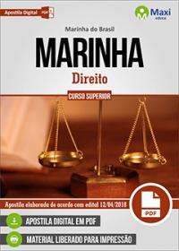 Direito - Corpo Auxiliar da Marinha - Marinha do Brasil