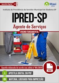 Agente de Serviços - IPRED-SP - Diadema-SP