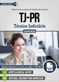 Técnico Judiciário - Tribunal de Justiça - PR