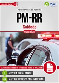 Soldado - Policia Militar - RR