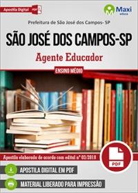 Agente Educador - Prefeitura de São José dos Campos - SP
