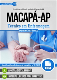 Técnico em Enfermagem - Prefeitura de Macapá - AP
