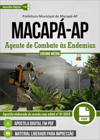 Agente de Combate às Endemias - Prefeitura de Macapá - AP