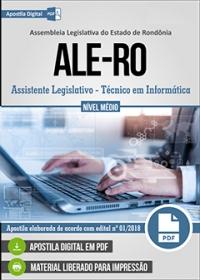 Assistente Legislativo - Técnico em Informática - ALE-RO