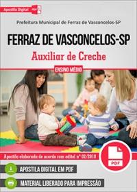 Auxiliar de Creche - Prefeitura de Ferraz de Vasconcelos - SP