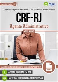 Agente Administrativo - CRF-RJ