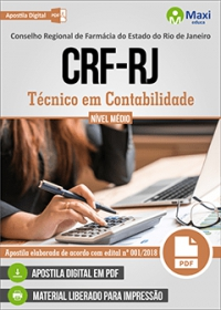 Técnico em Contabilidade - CRF-RJ