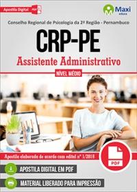 Assistente Administrativo - CRP-PE