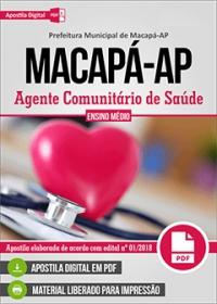 Agente Comunitário de Saúde - Prefeitura de Macapá - AP