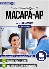 Enfermeiro - Prefeitura de Macapá - AP