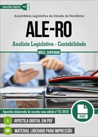 Analista Legislativo - Contabilidade - ALE-RO