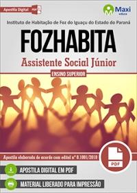 Assistente Social Júnior - FOZHABITA