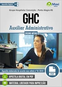 Auxiliar Administrativo - GHC