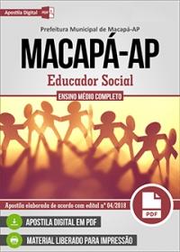 Educador Social - Prefeitura de Macapá - AP