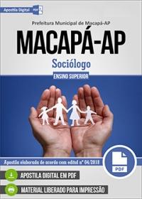 Sociólogo - Prefeitura de Macapá - AP