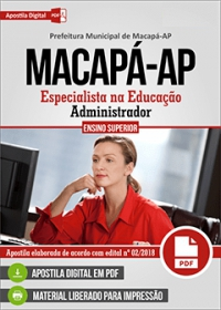 Administrador - Prefeitura de Macapá - AP