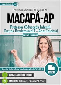Professor - Prefeitura de Macapá - AP