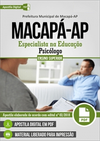 Psicólogo - Prefeitura de Macapá - AP
