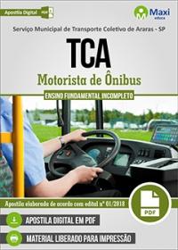 Motorista de Ônibus - TCA - Araras - SP