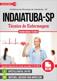 Técnico de Enfermagem - Prefeitura de Indaiatuba - SP