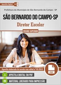 Diretor Escolar - Pref. de São Bernardo do Campo - SP