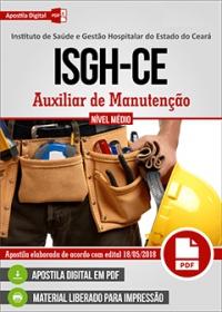 Auxiliar de Manutenção - ISGH-CE