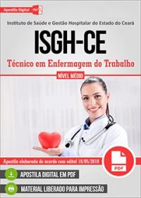 Técnico em Enfermagem do Trabalho - ISGH-CE