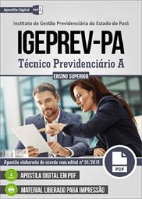 Técnico Previdenciário A - IGEPREV-PA