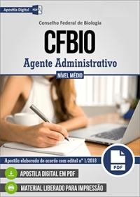 Agente Administrativo - CFBio