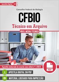 Técnico em Arquivo - CFBio