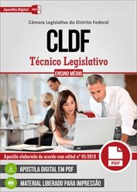 Técnico Legislativo - CLDF